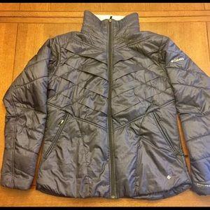 Columbia Omni Heat Interchange Jacket Blue Sz XL